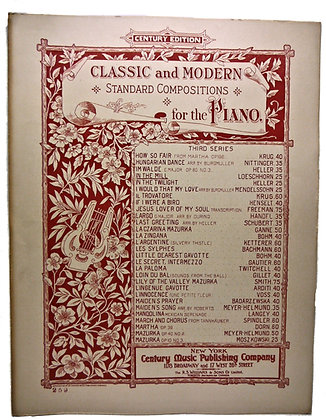 IN THE MILL by Loeschhorn (Piano Classic & Modern) 1901