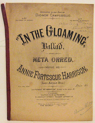 IN THE GLOAMING Annie Fortescue Harrison ca. 1860