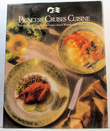 PRINCESS CRUISES CUISINE Cookbook 1990