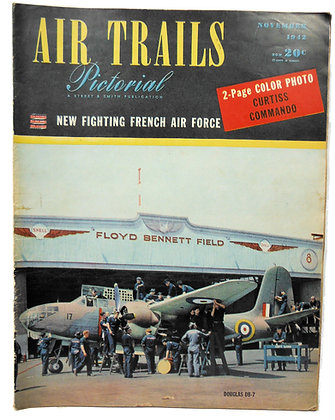 Air Trails (Nov. 1942) Vol. 19, No. 2