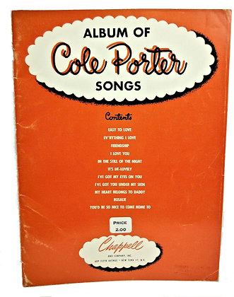 Album of Cole Porter Songs 1937