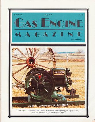 Gas Engine Mag.  May 1994