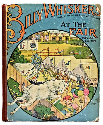Billy Whiskers at the Fair by Wheeler 1937
