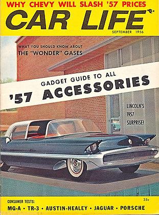 CAR LIFE (September 1956) Volume 3, No. 9