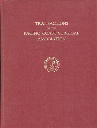 Pacific Coast Surgical 1957