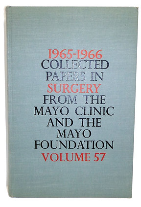 1965-1966 Collected Papers Mayo Clinic