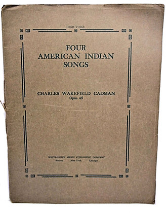 Four American Indian Songs 1909