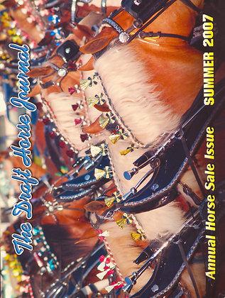 Draft Horse Journal Summer 2007