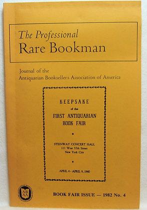 The Professional Rare ABAA 1982
