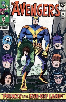 THE AVENGERS, JULY 1966, No. 30, Marvel Comics
