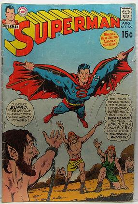 SUPERMAN, No. 229, Aug., 1970