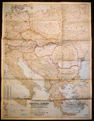 Nat. Geographic Central Europe 1951