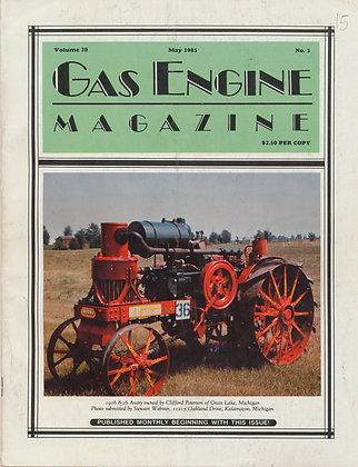 Gas Engine Mag.  May 1985