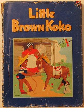 Stories of LITTLE BROWN KOKO 1940 (w/Jacket!)