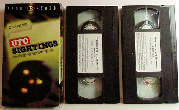 FROM BEYOND: UFO Sightings Photographic Evidence (2 VHS Set)