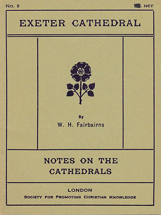 Notes on the Cathedrals Exeter London