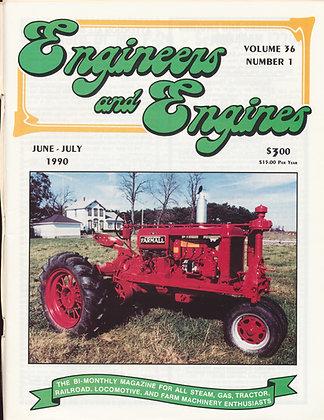 Engineers & Engines, June-July 1990