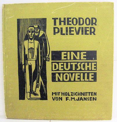 EINE DEUTSCHE NOVELLEby THEODOR PLIEVIER 1949 (German) WW2