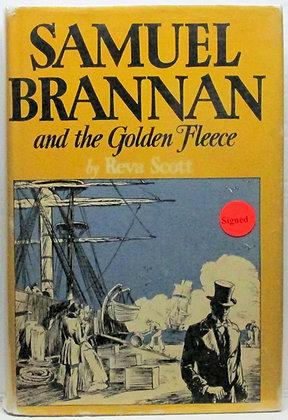 SAMUEL BRANNAN and The Golden Fleece by Reva Scott 1944 (signed)
