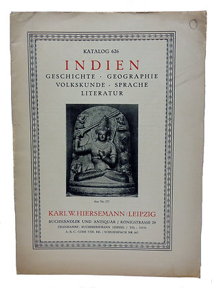 626 Indien Geschichte Geographie 1933 (German)