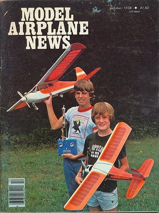 Model Airplane News (October 1978)