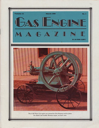 Gas Engine Mag.  March 1990