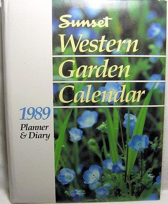 Western Garden CALENDAR (Planner & Diary)