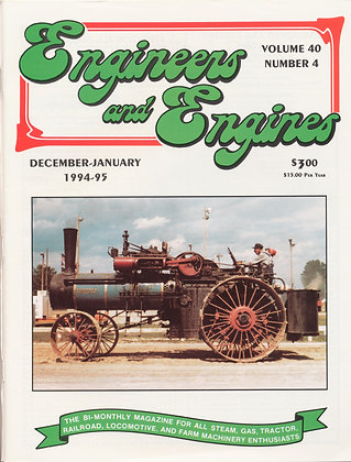 Engineers & Engines, Dec.-Jan. 1994-95