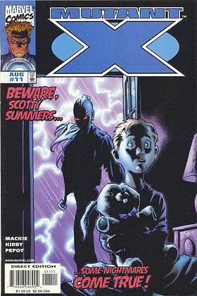 Mutant X, #11 - 1999