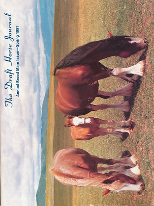 Draft Horse Journal Spring 1991