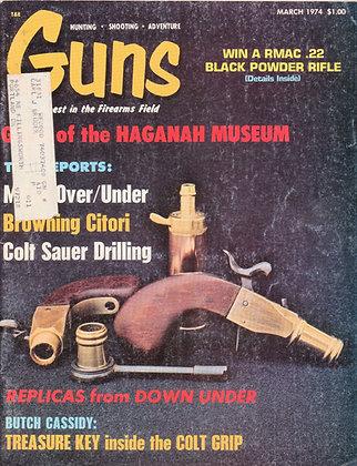 Guns, March 1974