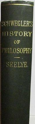 A History of Philosophy by Albert Schwegler 1890 (English Edition)