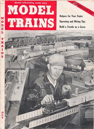 MODEL TRAINS, October 1954