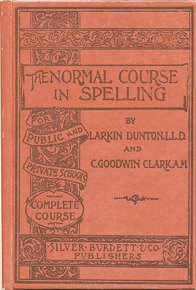Normal Course in Spelling 1982