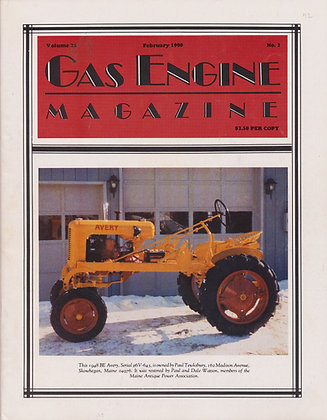 Gas Engine Mag.  February 1990