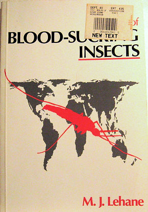 Biology of Blood-Sucking Insects Lehane 1991