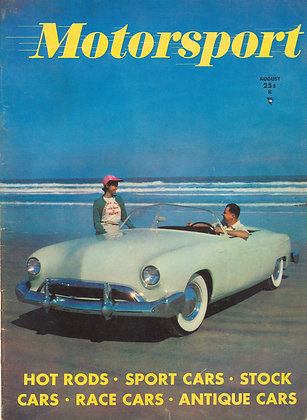 MOTORSPORT (August 1951)