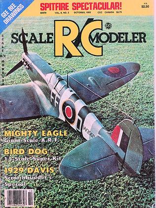 Scale R/C Modeler October 1982