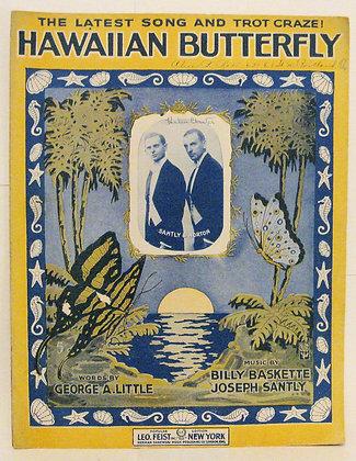 HAWAIIAN BUTTERFLY 1917