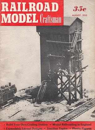 Railroad Model Craftsman, August 1953