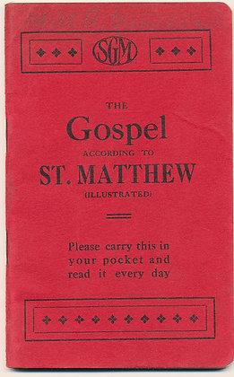Gospel According to St. Matthew (ca. 1920) Pocket