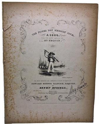 Fisher Boy Merrily Lives Mrs. Seguin 1840
