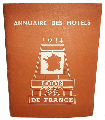 Annuaire Des Hotels 1954 (French)