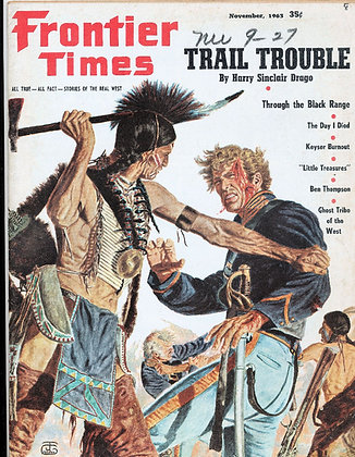Frontier Times Magazine (Nov. 1963)