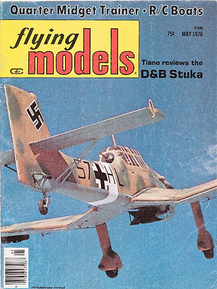 Flying Models May 1976