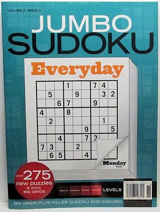JUMBO SUDOKU Everyday (Vol. 2, #2)