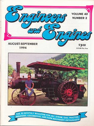 Engineers & Engines, Aug.-Sept. 1994