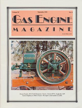 Gas Engine Mag.  September 1991