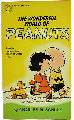 Wonderful World of Peanuts by Schulz 1954