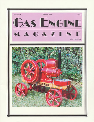 Gas Engine Mag.  January 1991